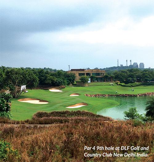 DLF Golf Country Club New Delhi India - Life as a caddy