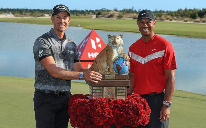 Henrik Stenson and Tiger Woods