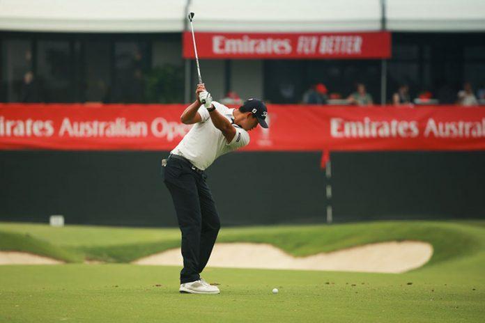 Denzel Ieremia Emirates Australian Open Day 2