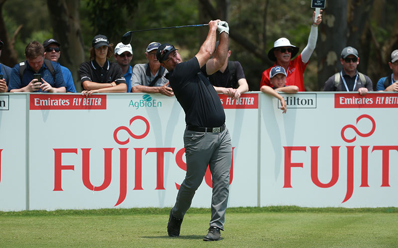 Ryan Fox on Day 4 of the 2019 Australian Open (Photo: Dave Tease Golf NSW)