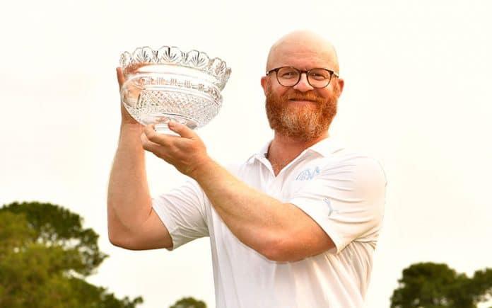 2019 Australian All Abilities Open Champion Johan Kammerstad (Photo: Golf Australia)