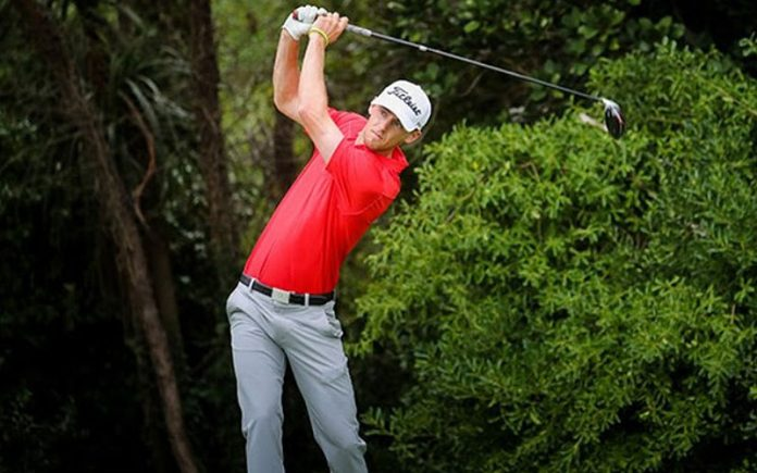 Sam Jones leads the New Zealand Strokeplay after the opening round. (Photo: BW Media // Glenn Taylor)